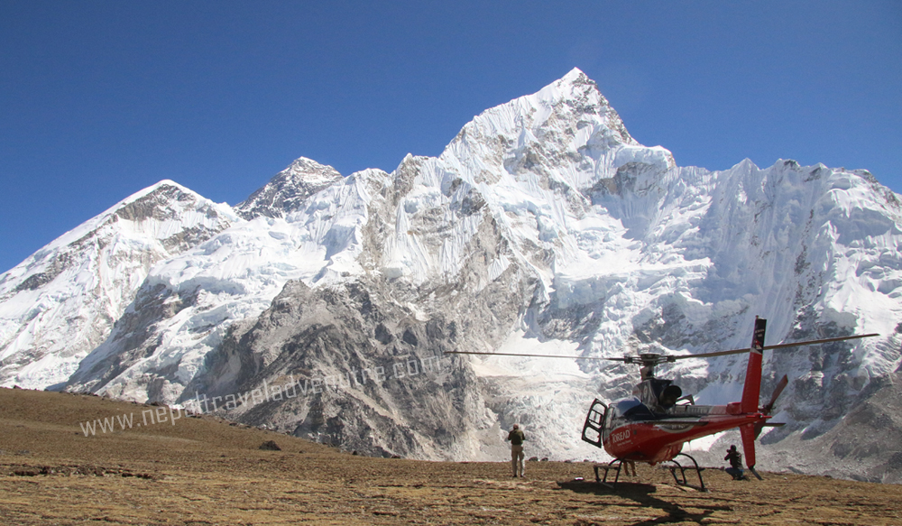 Everest base Camp and Kalapattar Helicopter Tour- 25th October 2017